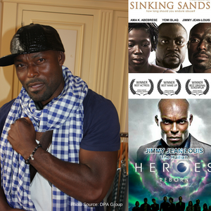 "Haitian actor Jimmy Jean-Louis from ""Heroes"" and ""Sinking Sands"""