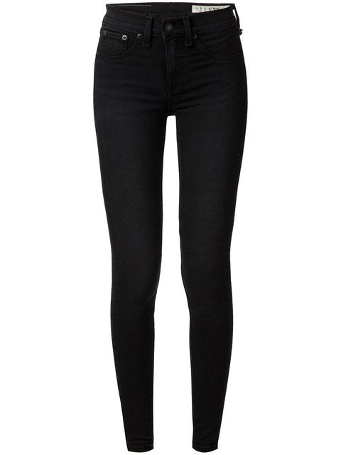 High Rise Black Jeans