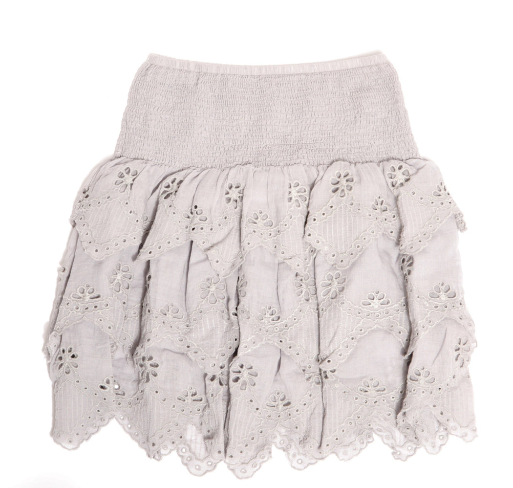 Manderley Tier Mini Skirt