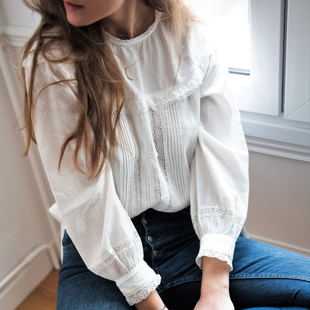 Whittier Lace Blouse