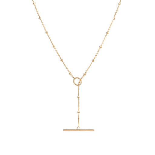 Satellite Chain Toggle Necklace