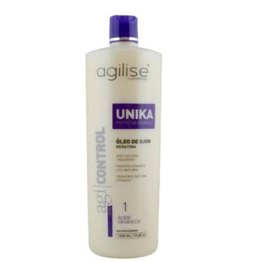 Agilise Professional Brazilian Keratin Treatment Agi Control Unika Formol Free Blowout Treatment 1L - Agilise Professional