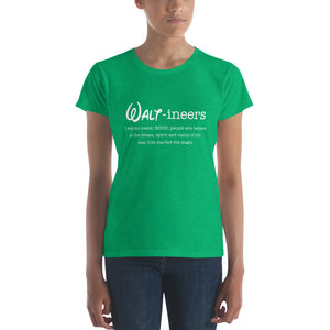 Waltineers - Womens Ringspun T-Shirt [Defintion Logo]