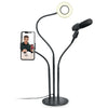 Flexible Ring Light w/ microphone holder