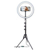 "Bower 12"" LED Selfie Ring Studio Light"