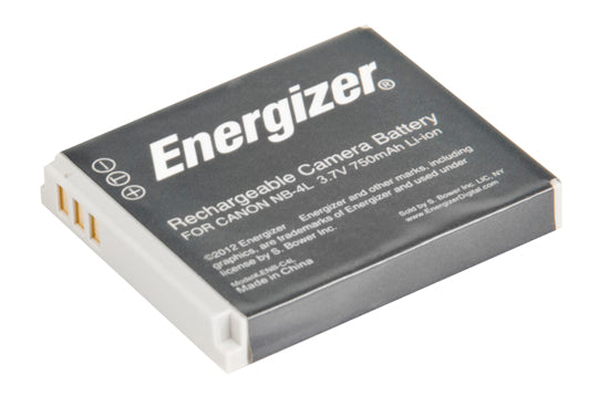 Energizer® ENB-C4L Digital Replacement Battery for Canon NB-4L