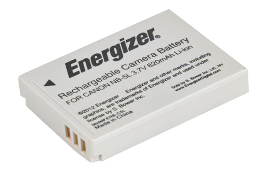 Energizer® ENB-C5L Digital Replacement Battery for Canon NB-5L