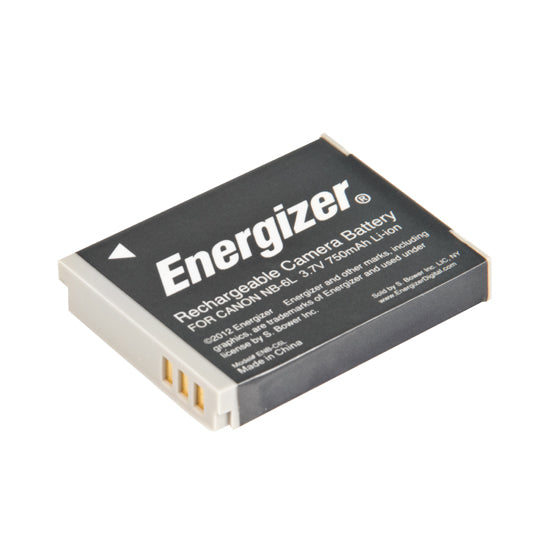Energizer® ENB-C6L Digital Replacement Battery for Canon NB-6L