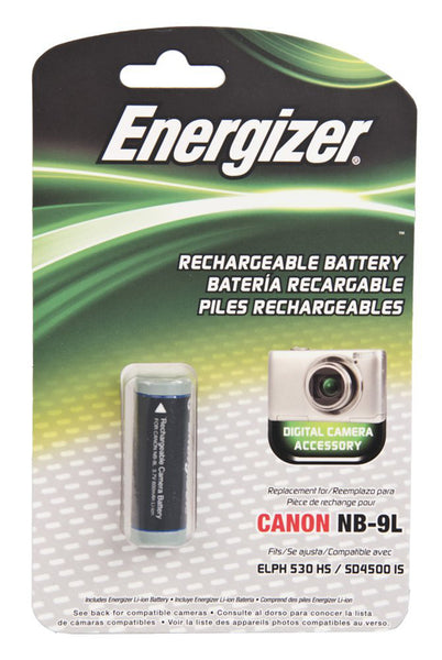 Energizer® ENB-C9L Digital Replacement Battery for Canon NB-9L