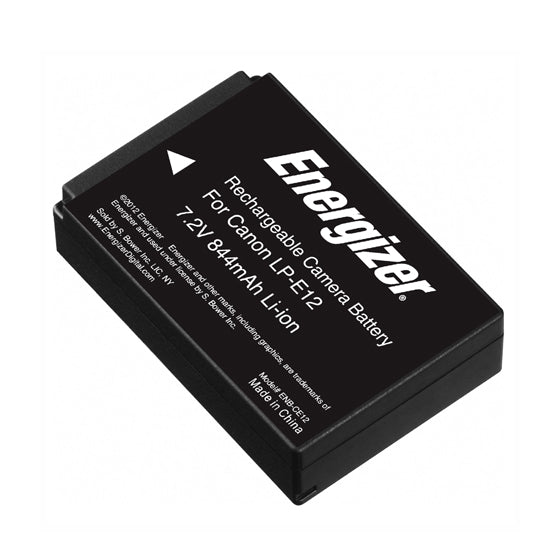 Energizer® ENB-CE12 Digital Replacement Battery for Canon LP-E12