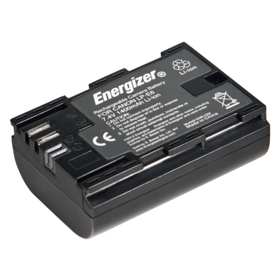 Energizer® ENB-CE6 Digital Replacement Battery for Canon LP-E6