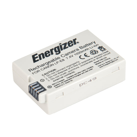 Energizer® ENB-CE8 Digital Replacement Battery for Canon LP-E8