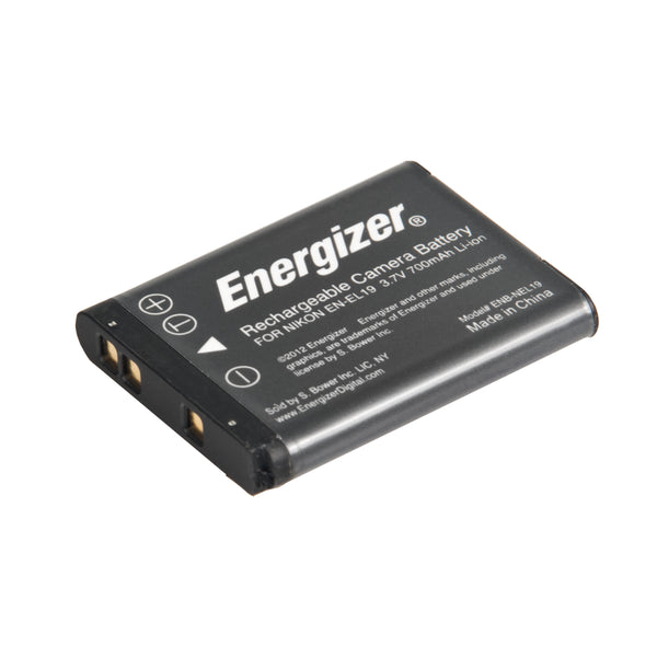 Energizer® ENB-NEL19 Digital Replacement Battery for Nikon EN-EL19