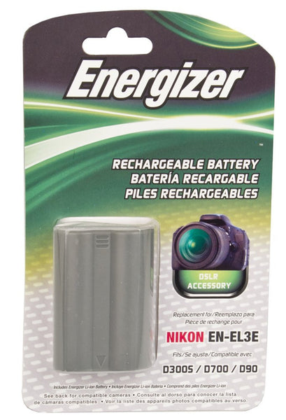 Energizer® ENB-NEL3E Digital Replacement Battery for Nikon EN-EL3e