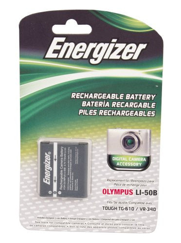 Energizer® ENB-O50B Digital Replacement Battery for Olympus LI-50B