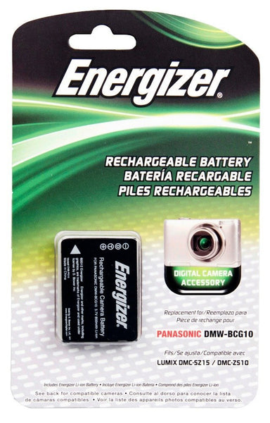 Energizer® ENB-PG10 Digital Replacement Battery for Panasonic DMW-BCG10