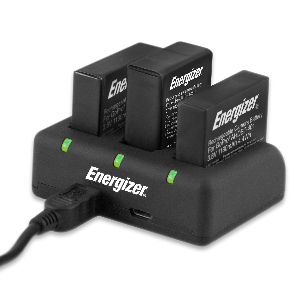 Energizer® Triple GoPro 3 & 4 Battery Charger