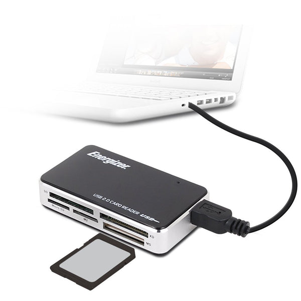 Energizer® Multi-Fit 64-in-1 Card Reader/Writer