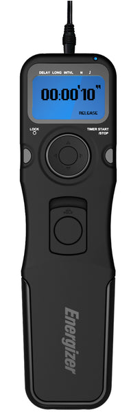 Energizer® Multi-Fit LCD Timer Remote Shutter Release