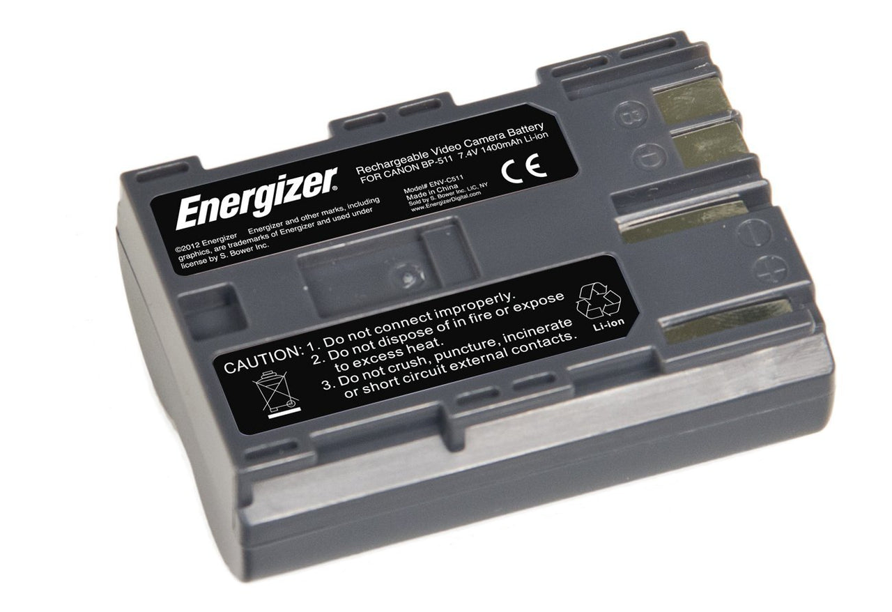Energizer® ENV-C511 Digital Replacement Battery for Canon BP-511