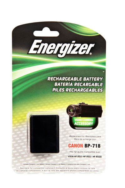 Energizer® ENV-C718 Digital Replacement Battery for Canon BP-718