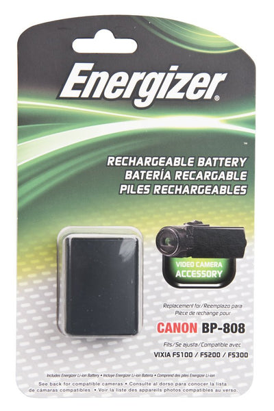 Energizer® ENV-C808 Digital Replacement Battery for Canon BP-808