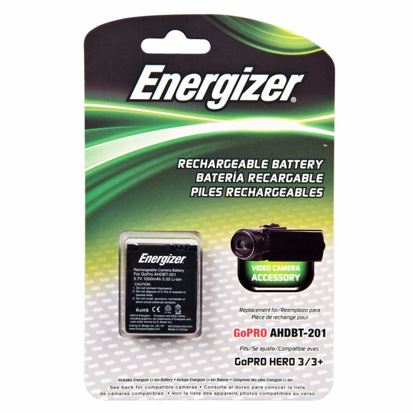 Energizer® ENV-GP3 Digital Replacement Battery forGoPro AHDBT-201/301/302