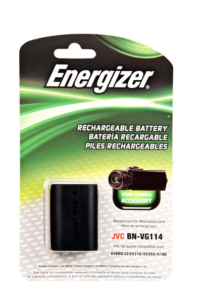 Energizer® ENV-J114 Digital Replacement Battery forJVC BN-VG114