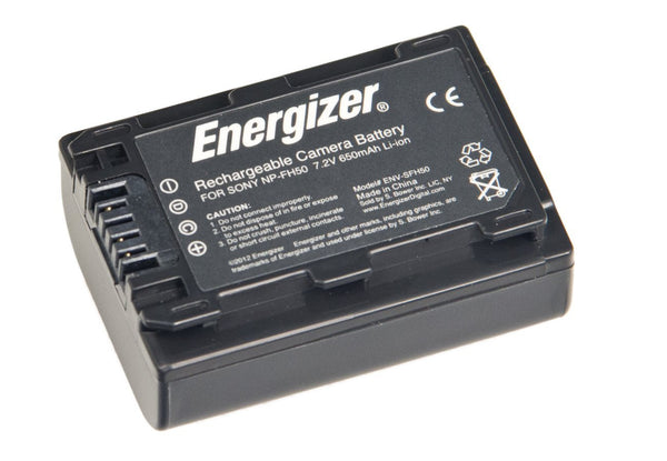 Energizer® ENV-SFH50 Digital Replacement Battery for Sony NP-FH50