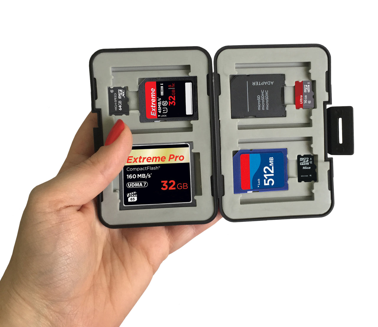 Heavy Duty Memory Card Case