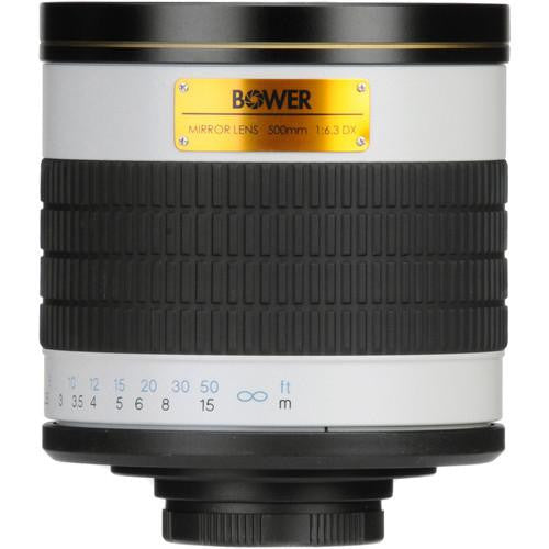 500mm f/6.3 Manual Focus Telephoto T-Mount Lens
