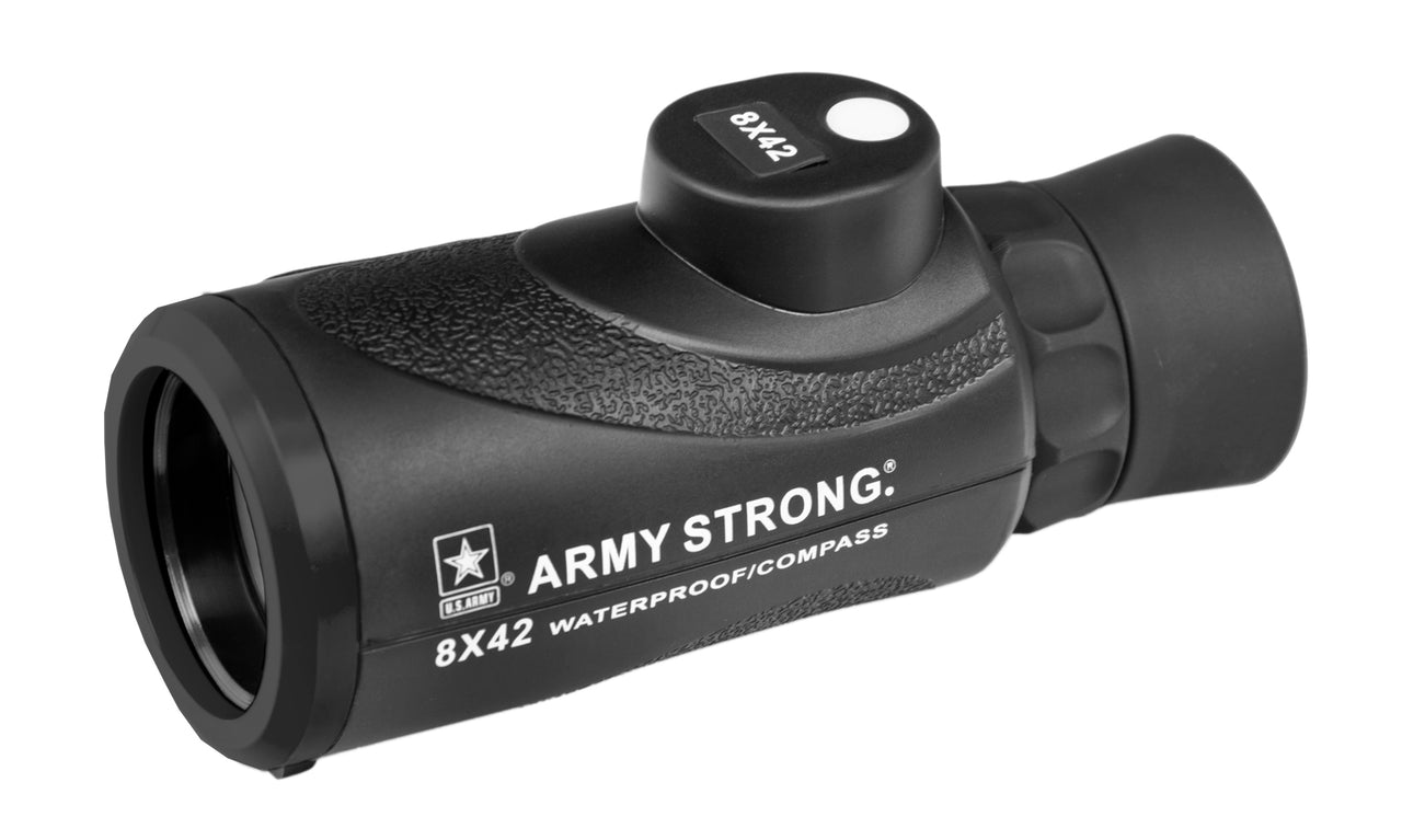US ARMY Waterproof Compass Monocular 8x42