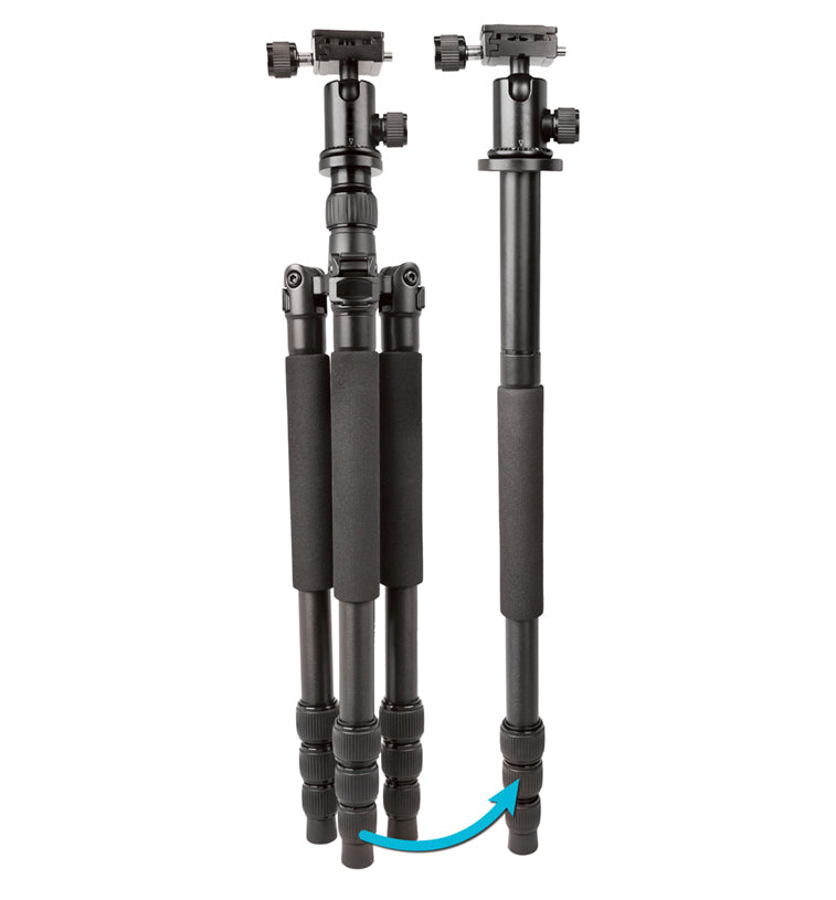 Duo Flex 2-In-1 Professional Tripod and Monopod