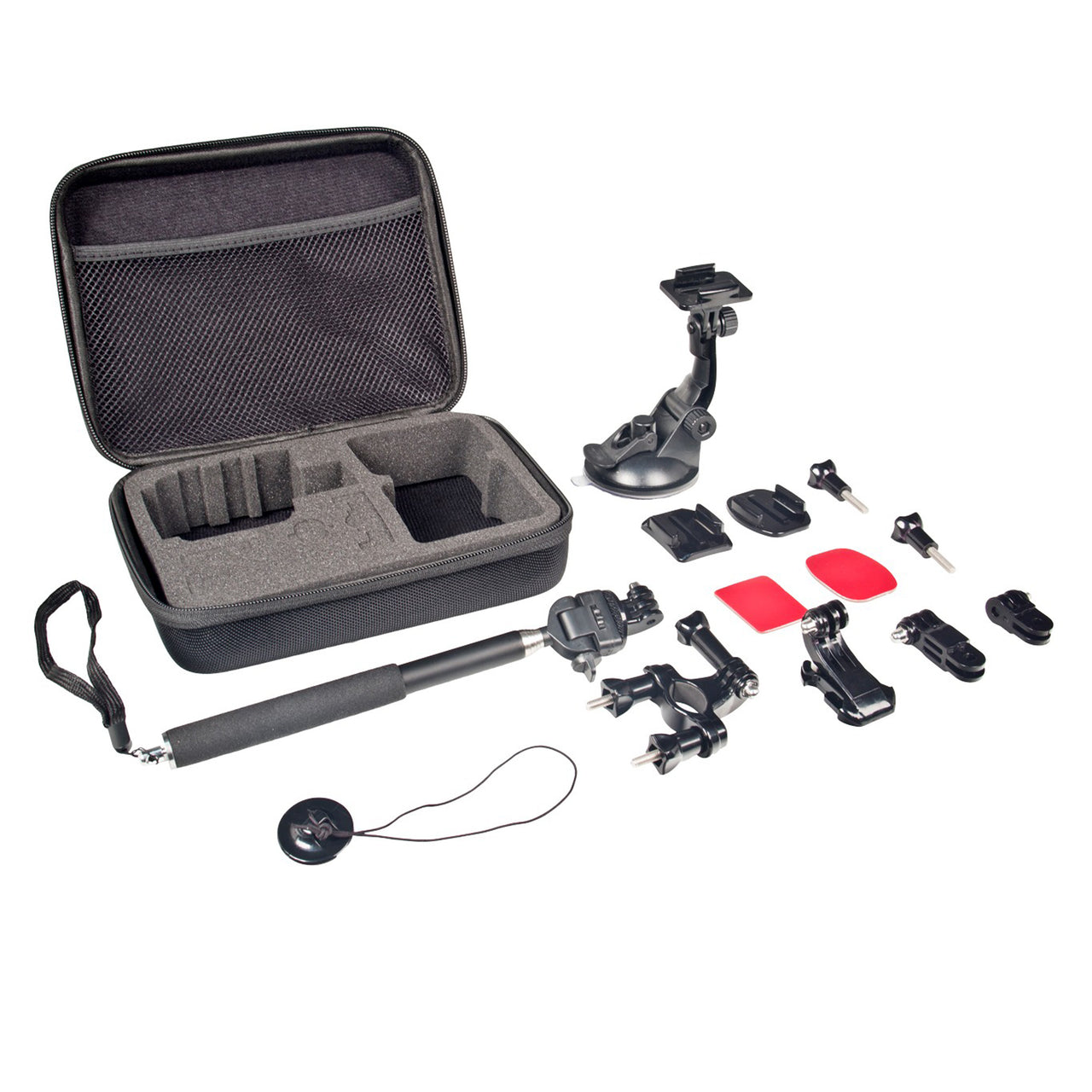 Xtreme Action Series 6-in-1 Sports Bundle Camcorder Accessory Kit for GoPro
