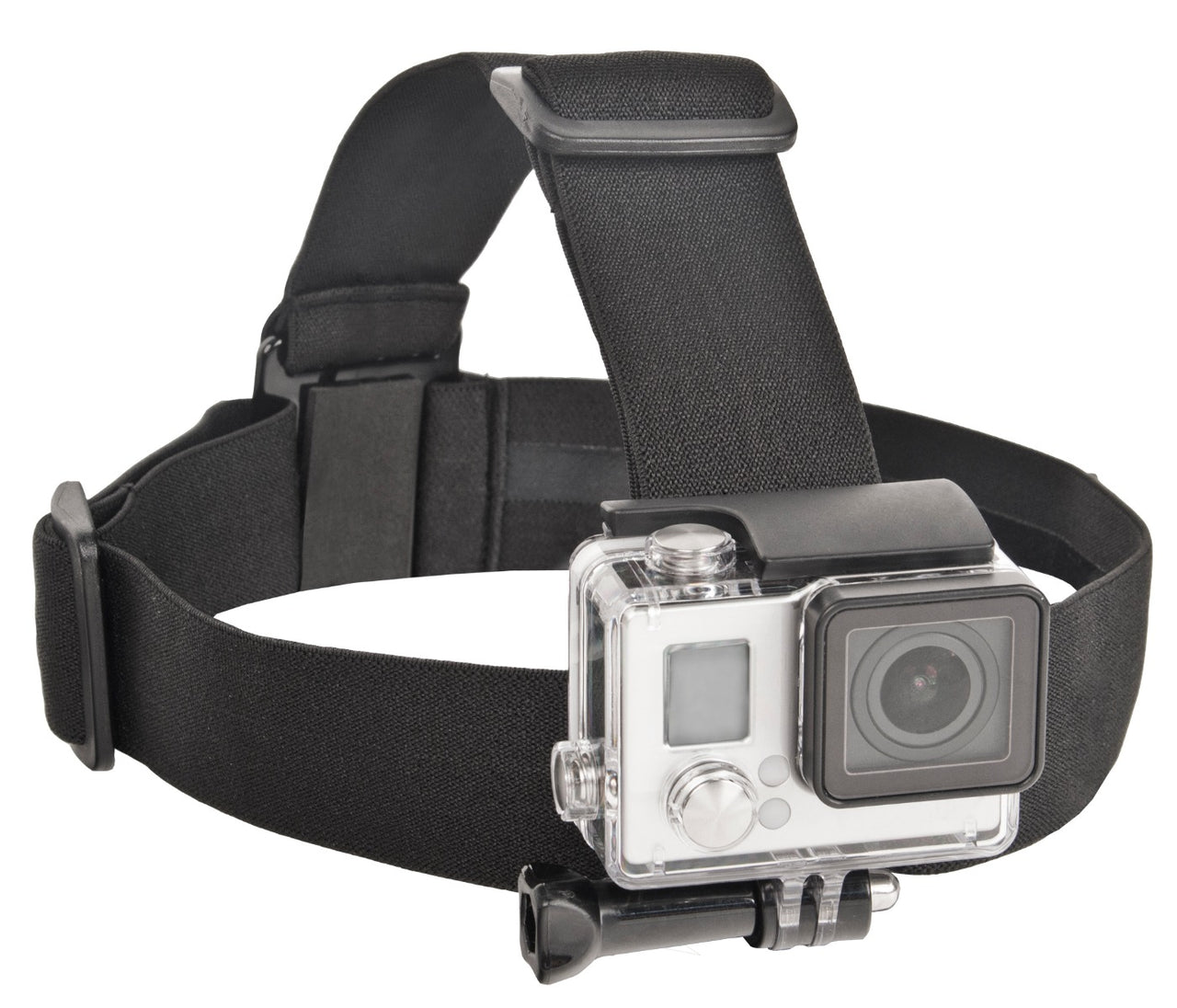 Xtreme Action Series Elastic Head Strap for GoPro 3, 3+, 4, 5, LCD and Session Action Cameras