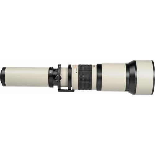 650-1300mm f/8-16 Manual Focus Telephoto T-Mount Lens
