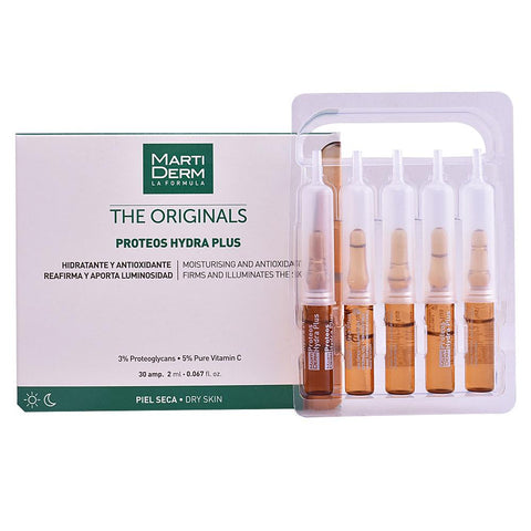 MARTIDERM THE ORIGINALS proteos hydra plus VERDE - 30 ampolle