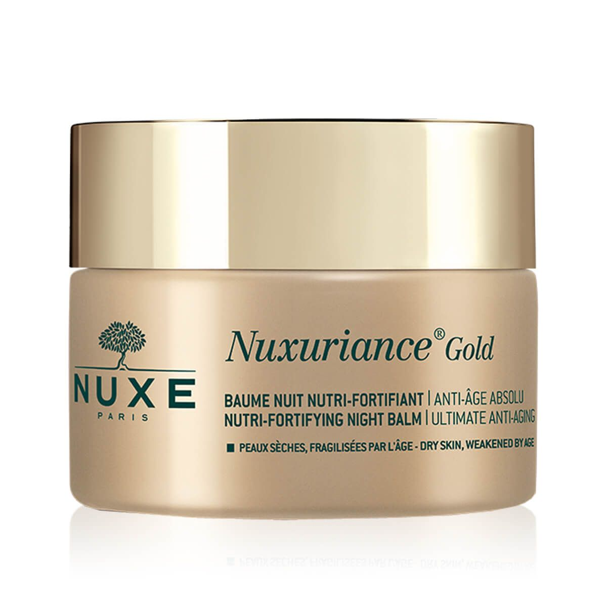 Nuxe Nuxuriance Gold - Crema notte Nutri-Fortificante anti età assoluto 50ml