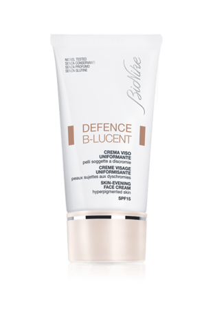 BioNike Defence B-Lucent Crema Viso uniformante SPF15 40ml