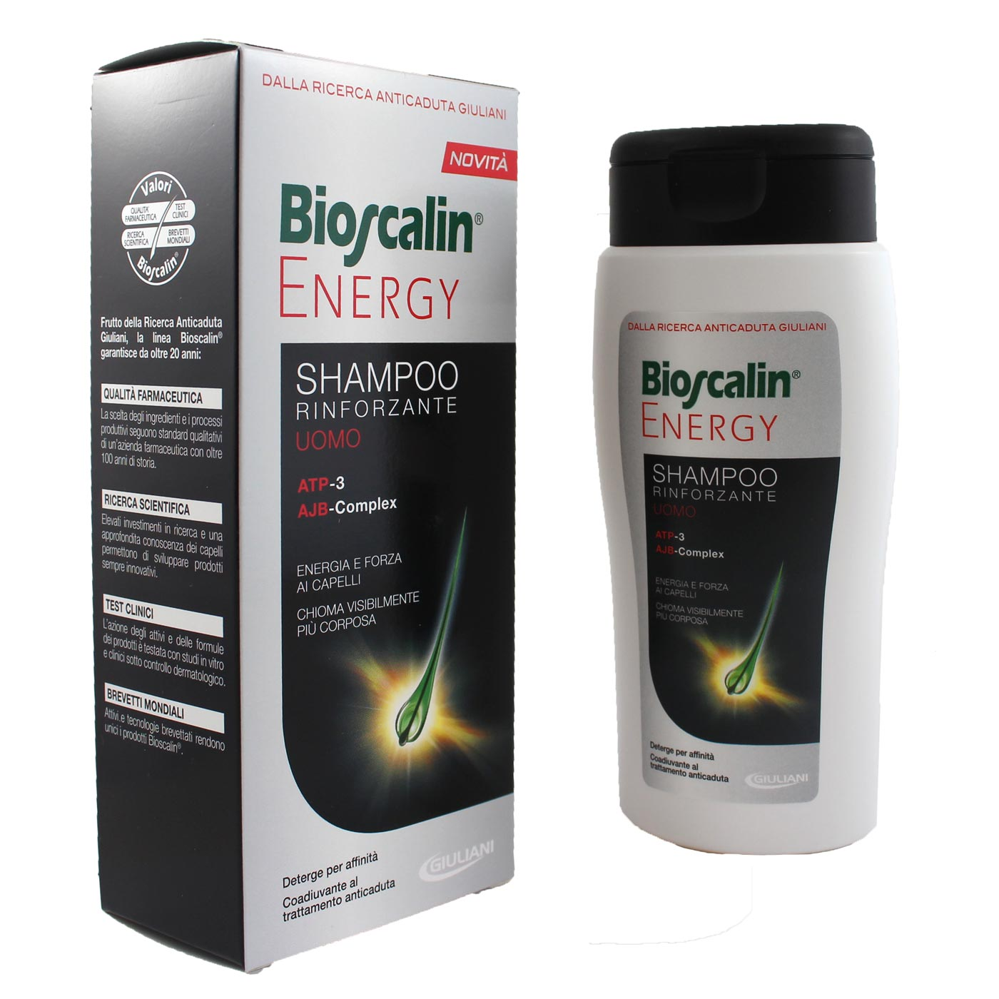 BIOSCALIN ENERGY SHAMPOO 200ML