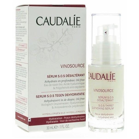 Caudalie Vinosource Serum SOS Desalterant - Siero Dissetante 30 ml