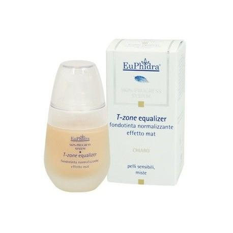 Euphidra Skin Progress T-Zone Equlizer Fondotinta Normalizzante Opaco - Scuro - 30 ml