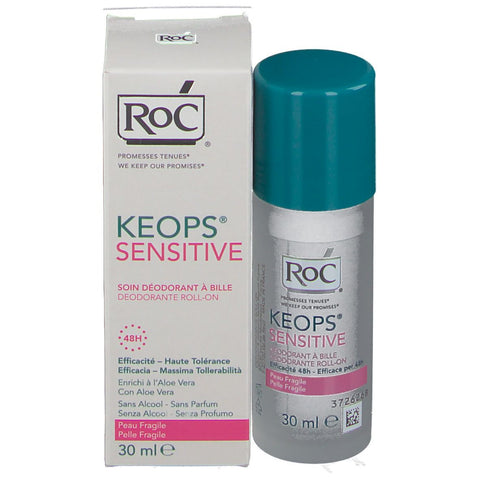 Roc Keopos Deodorante Roll-On 48H Sensitive
