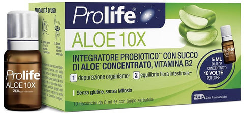 Prolife Aloe 10x 10 flaconi da 8 ml