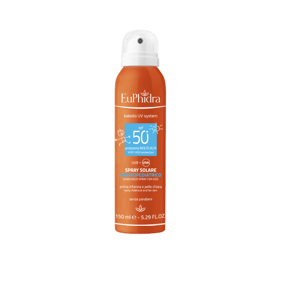 Euphidra SPRAY SOLARE DERMOPEDIATRICO spf 50+ 150 ml