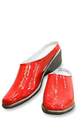Phelan Slip-On Mule - Red