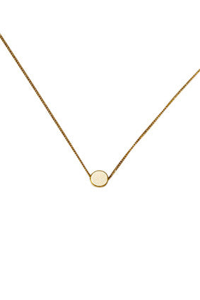 Gold Circle Necklace