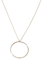 Silver Circle Necklace