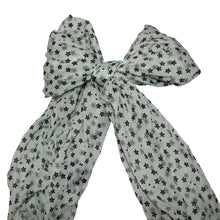 Italian Scarves Collection - Black Flower