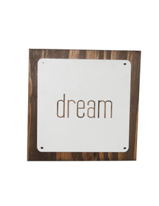 Dream Wooden Wall Décor